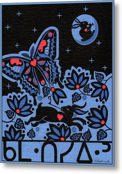 Metal Print featuring the painting Kamwatisiwin - Gentleness In A Persons Spirit by Chholing Taha