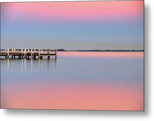 Kanahooka Pier Metal Print by RDN Photography