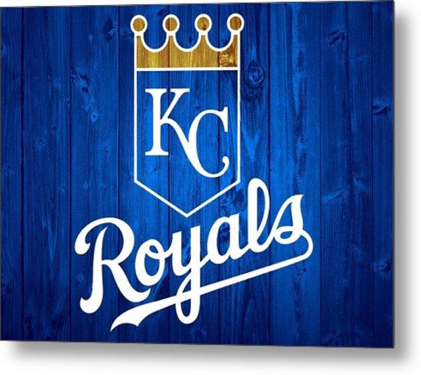 Kansas City Royals Barn Door Metal Print