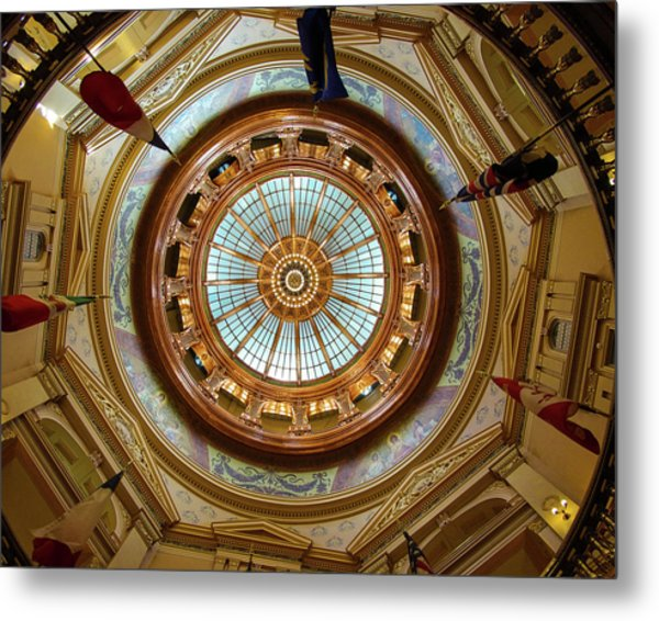 Kansas Dome Metal Print