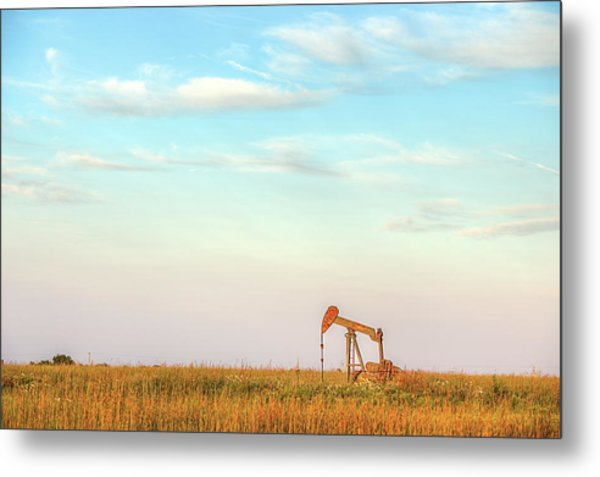 Kansas Energy  Metal Print by JC Findley