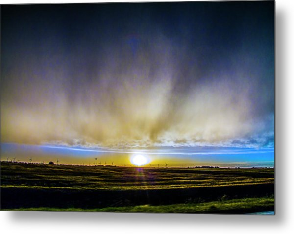 Metal Print featuring the photograph Kansas Storm Chase Bust Day 005 by NebraskaSC