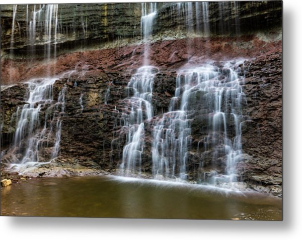 Kansas Waterfall 3 Metal Print