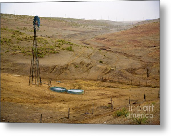 Kansas Watering Hole Metal Print