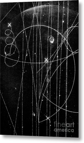 Kaon Proton Collision Metal Print