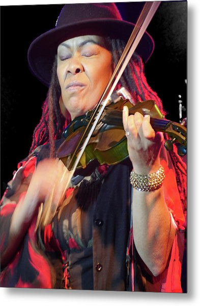 Karen Briggs 2017 Hub City Jazz Festival - In The Moment Metal Print