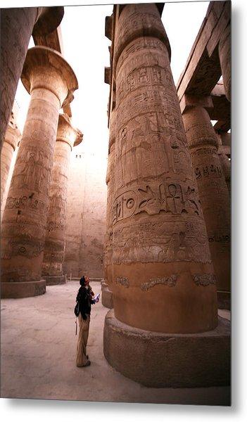 Karnak Temple Metal Print