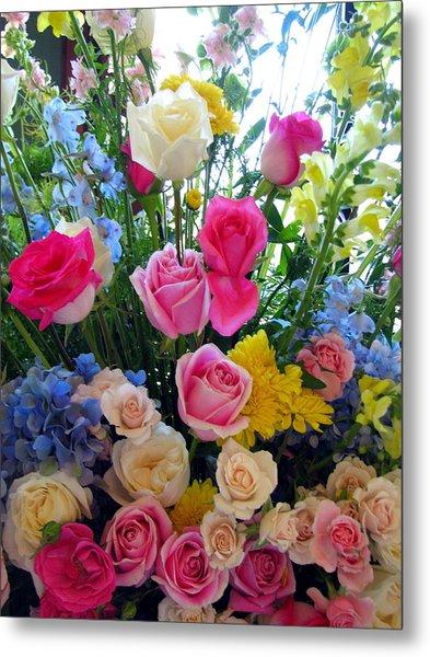 Kate's Flowers Metal Print