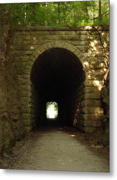 Katy Trail State Park Tunnel Metal Print