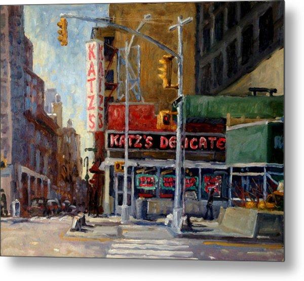 Katz's Delicatessen, New York City Metal Print