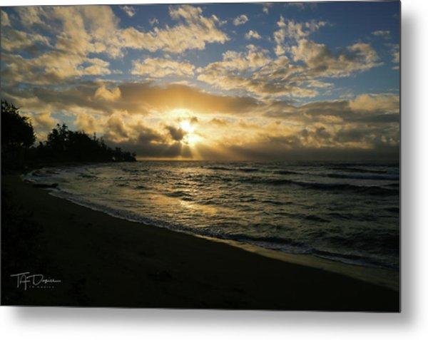 Kauai Sunrise Metal Print