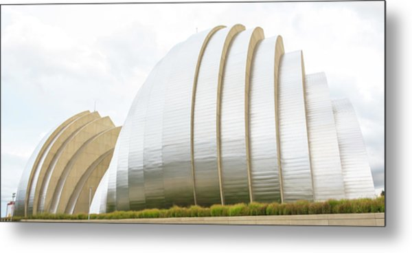 Kauffman Center Performing Arts Metal Print