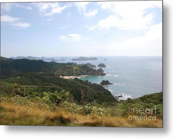 Kauri Cliffs Golf 2 New Zealand Metal Print