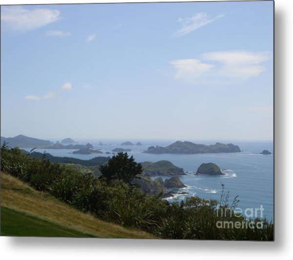 Kauri Cliffs Golf New Zealand Metal Print