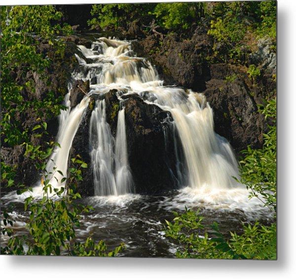 Kawishiwi Falls Metal Print