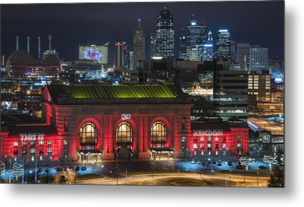 Kc Chiefs Metal Print