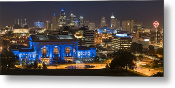 Kc Royal Skyline Metal Print