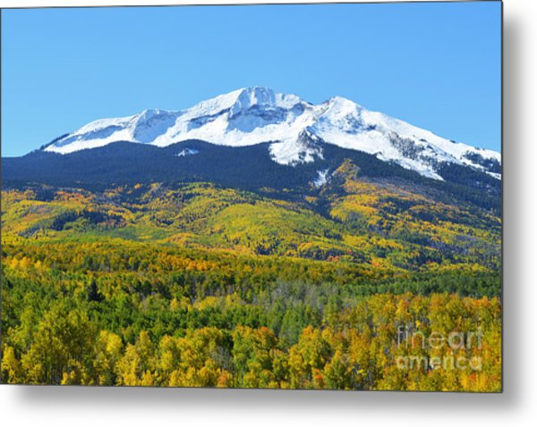Metal Print featuring the photograph Kebler Pass by Kate Avery