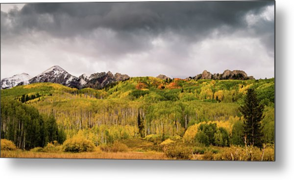 Metal Print featuring the photograph Kebler Pass by Stephen Holst