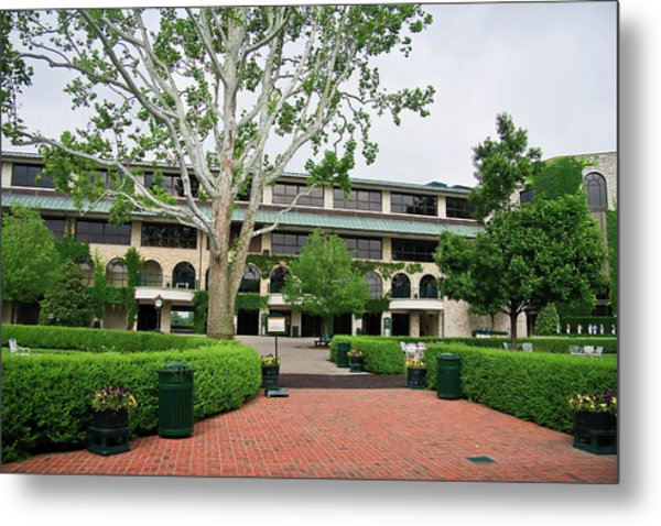 Keeneland Race Track In Lexington Metal Print