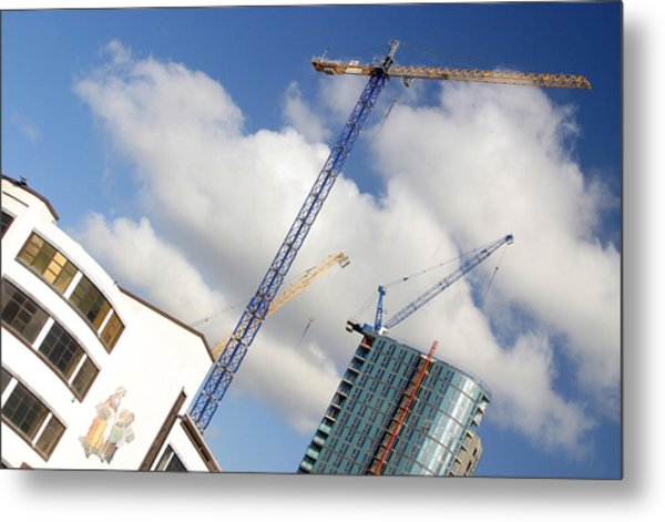 Keep Going Soon Be No More Room Metal Print by Jez C Self
