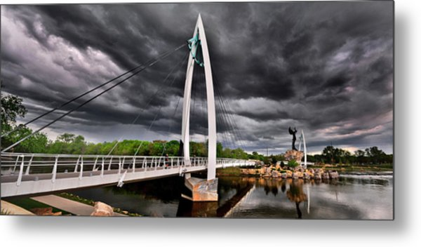 Keeper Of The Storm Metal Print