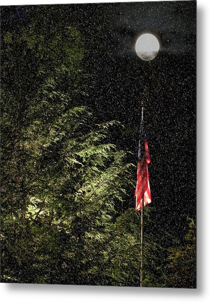 Keeping America  Illuminated.  Metal Print