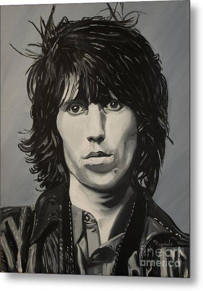 Keith Richards Metal Print