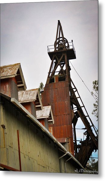 Kennedy Mine Headframe Metal Print