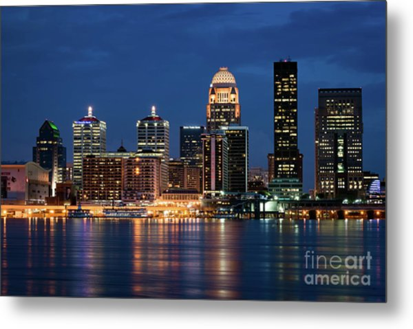 Kentucky Blue Metal Print