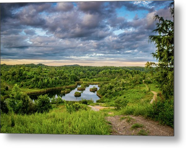 Kentucky Hills And Lake Metal Print