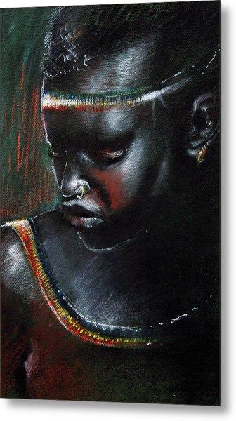 Kenya Beauty Metal Print