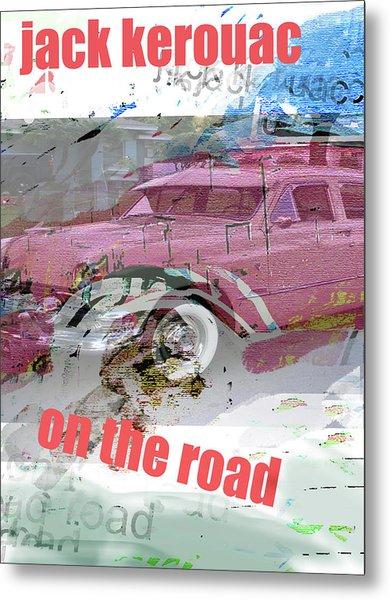 Kerouac Poster  Metal Print