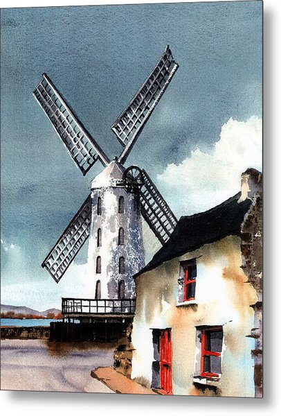 Kerry Windmill At Blennerville Metal Print