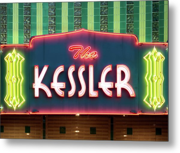 Kessler Theater 042817 Metal Print