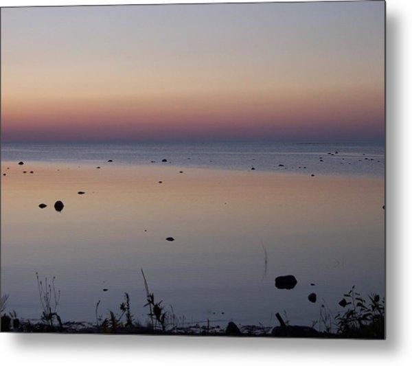 Kettle Point Sunset Metal Print