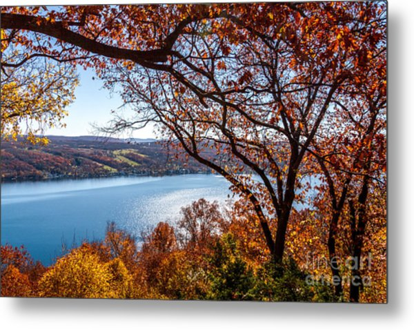 Keuka Lake Vista Metal Print
