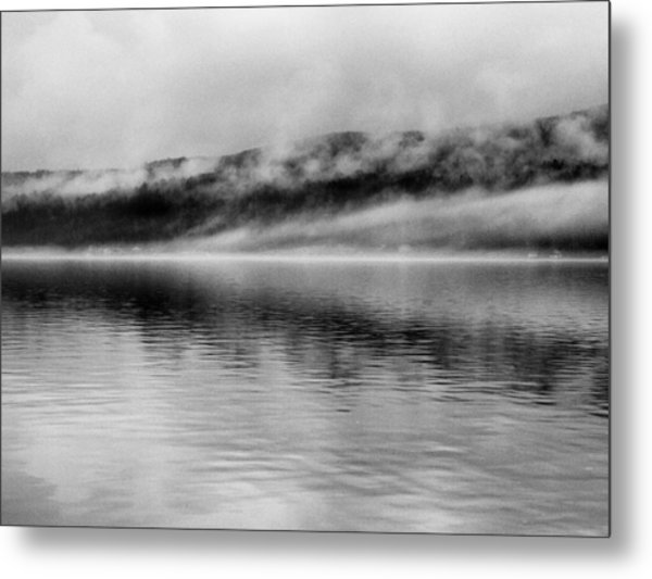 Keuka Mists Metal Print