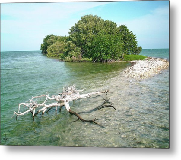 Key Largo Out Island Metal Print
