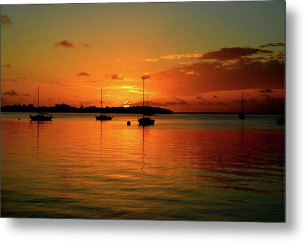 Key Largo Sunset Metal Print