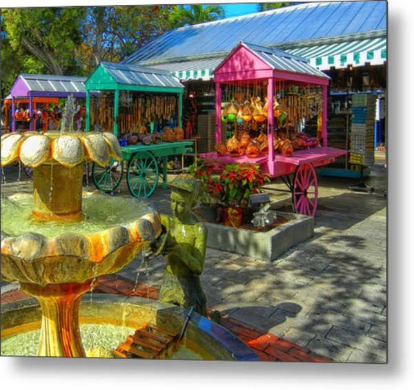 Key West Mallory Square Metal Print