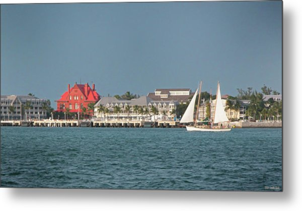 Key West Shoreline Metal Print