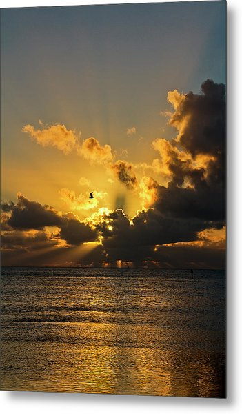 Key West Sunrise 39 Metal Print