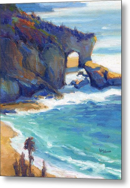 Metal Print featuring the painting Arch At Treasure Island by Konnie Kim