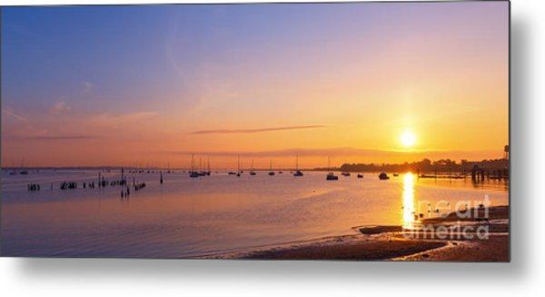 Keyport Harbor Sunrise  Metal Print