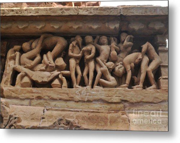 Khajuraho Temples-1 Metal Print