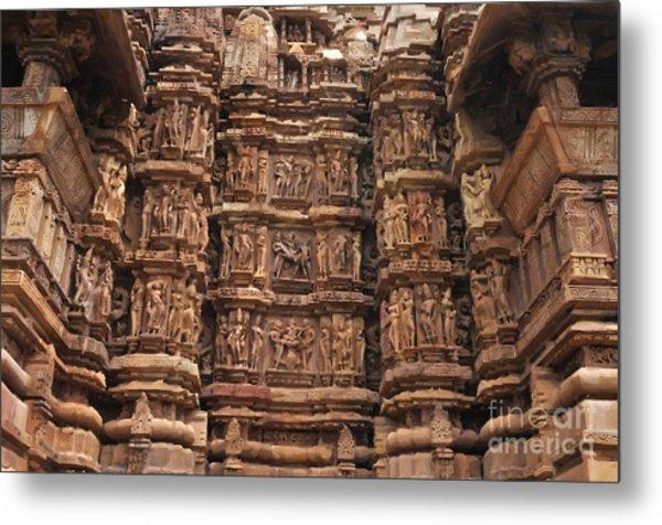 Khajuraho Temples 2 Metal Print