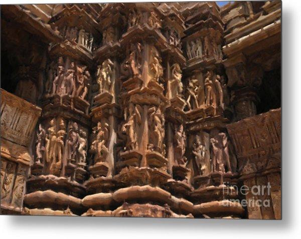 Khajuraho Temples 3 Metal Print
