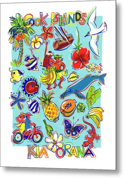 Kia Orana Cook Islands Metal Print