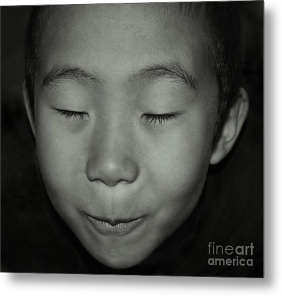 Kid From Beijing  Metal Print